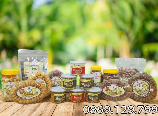 Các sản phẩm hạt điều Fami